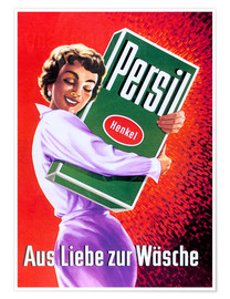 Poster  Persil - For the love of lingerie
