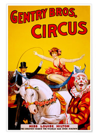 Premium poster  Gentry Bros  Circus - Advertising Collection