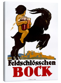 Canvas print  Feldschlösschen Bock - Advertising Collection