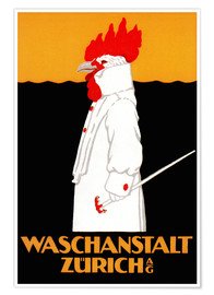 Premium poster  Laundry Zurich - Advertising Collection