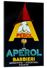 Acrylic print  Aperol Barbieri - Advertising Collection