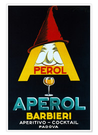 Premium poster  Aperol Barbieri - Advertising Collection
