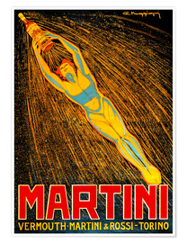 Premium poster  Vermouth Martini - Advertising Collection