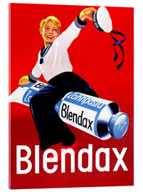 Acrylic print  Blendax toothpaste - Advertising Collection