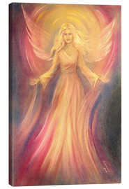 Canvas  Angel Light Love - Spiritual painting - Marita Zacharias