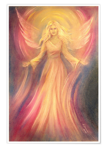 Premium poster Angel of light and love