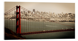 Acrylic glass  San Francisco Panorama - Jan Schuler