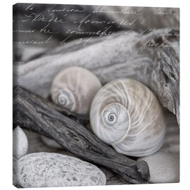 Canvas print  At the beach - Andrea Haase Foto