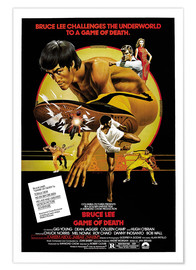 Premium poster  Game of Death - Entertainment Collection