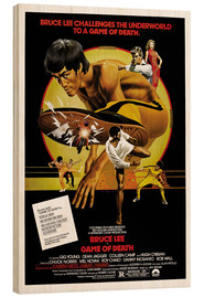 Wood print  Game of Death - Entertainment Collection