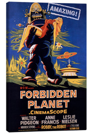 Canvas print  Forbidden Planet - Entertainment Collection