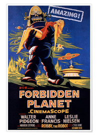 Poster  Forbidden Planet