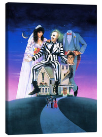 Canvas print  Beetlejuice - Entertainment Collection