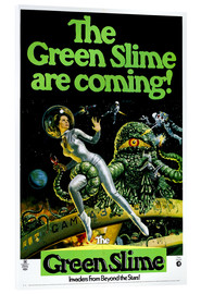Acrylic print  The Green Slime - Entertainment Collection