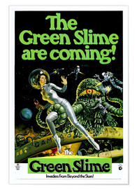 Premium poster The Green Slime