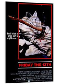 Foam board print  Friday the 13th - Entertainment Collection