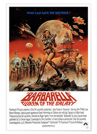 Premium poster  Barbarella - Entertainment Collection