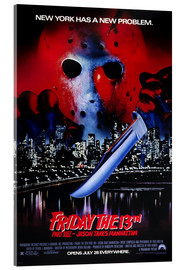 Acrylic print  Friday the 13th Part VIII: Jason Takes Manhattan - Entertainment Collection