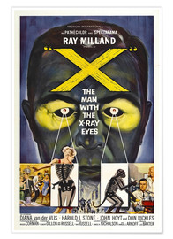 Premium poster  X: The Man with the X-ray Eyes - Entertainment Collection