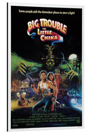 Aluminium print  Big Trouble in Little China - Entertainment Collection