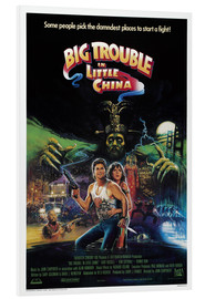 Foam board print  Big Trouble in Little China - Entertainment Collection