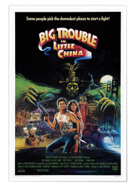 Premium poster  Big Trouble in Little China - Entertainment Collection