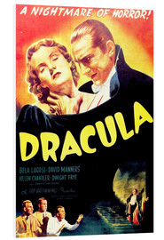 Foam board print  Dracula - Entertainment Collection