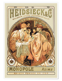 Premium poster Heidsieck Champagne