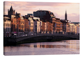 Canvas print  Dublin Evening - Patrick Lohmüller