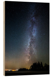 Wood print  Milkyway - Oliver Henze