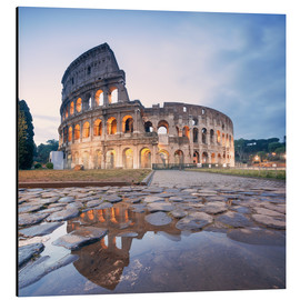 Aluminium print  Colosseum reflected into water - Matteo Colombo