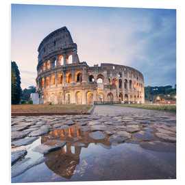 Matteo Colombo - Colosseum reflected into water
