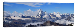 Canvas  Matterhorn panorama - Gerhard Albicker