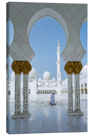 Canvas print  Sheik Zayed Grand Mosque, Adu Dhabi, Emirates - Matteo Colombo