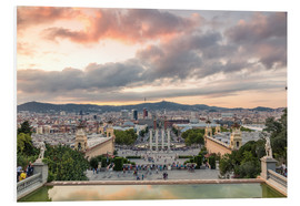 Forex  Barcelona in the evening - Matteo Colombo