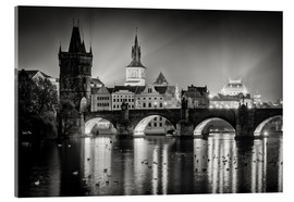 Acrylic glass  Prague - Charles Bridge - Alexander Voss
