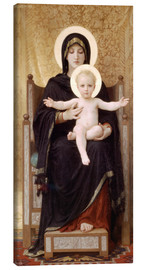 Canvas print  Madonna and Child - William Adolphe Bouguereau
