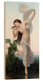 Wood print  Aurora - William Adolphe Bouguereau