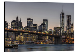 Aluminium print  Brooklyn Bridge /Manhattan - Marcus Sielaff