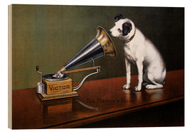 Wood  His Master's Voice Ad, The Theatre  - François Barraud