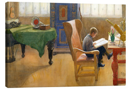 Canvas print  Document - Carl Larsson