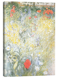 Canvas print  Flowers - Carl Larsson