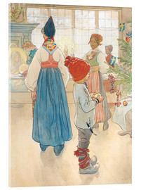 Acrylic print  Before Christmas - Carl Larsson