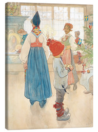 Canvas  Before Christmas - Carl Larsson