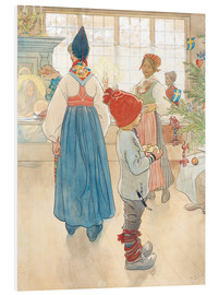 Foam board print  Before Christmas - Carl Larsson