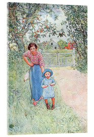 Acrylic print  Say hello to the nice uncle - Carl Larsson