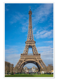 Premium poster  The Eiffel Tower, Paris - FineArt Panorama