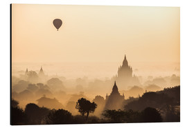 Aluminium print  Balloon over Bagan, Myanmar - Matteo Colombo