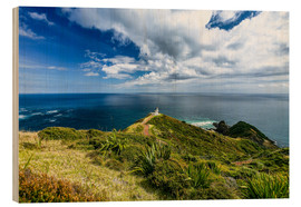 Wood print  Cape Reinga I - Thomas Hagenau