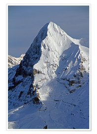 Premium poster Eiger North Face
